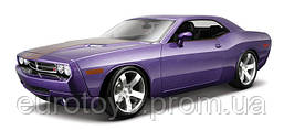 MAISTO Автомодель (1:18) 2006 Dodge Challenger Concept фиолетовый металлик