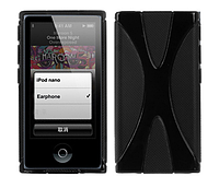 Чехол бампер TPU для Apple iPod Nano 7 (A1446) - Black
