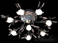 Люстра галоген со светодиодной подсветкой, пульт, multi LED
