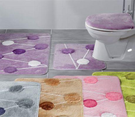 Наборы ковриков для ванной и туалета