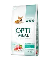 Optimeal (Оптимил) корм для щенков всех пород с индейкой 12 кг