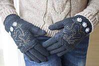 Очень теплые женские перчатки