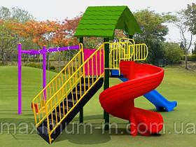 Пластиковый игровой комплекс для детей POLY PARK STAR