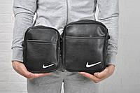 Сумка-мессенджер через плечо найк (Nike), мужская