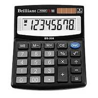 Калькулятор Brilliant BS-208 настол.8-разр,1 пам.100*125