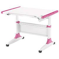 Парта-трансформер KidsMaster K1-Durer Desk без ящика Розовая