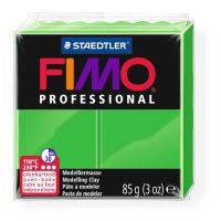 Пластика Professional, Ярко-зеленая, 85г, Fimo