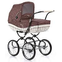 Универсальная коляска 2 в 1 Geoby C605-R327  коричневая с бежевым