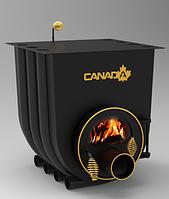 Печь с варочной плитой Canada «О1» 7 кВт со стеклом
