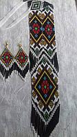 Етнічний гердан + сережки(Этнический гердан + серьги ) ANa-0065