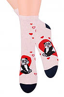 Женские носки на подарок ко дню святого Валентина