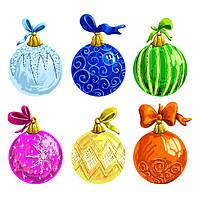 Новогодние елочные игрушки и шары
