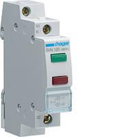 Индикатор двойной LED Hager SVN126, 230В
