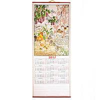Календарь-соломка настенный год Петуха 2017г. NB1026274