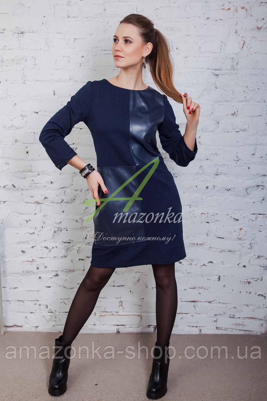 Брендовое женское платье от производителя - весна 2017 - Код пл-84