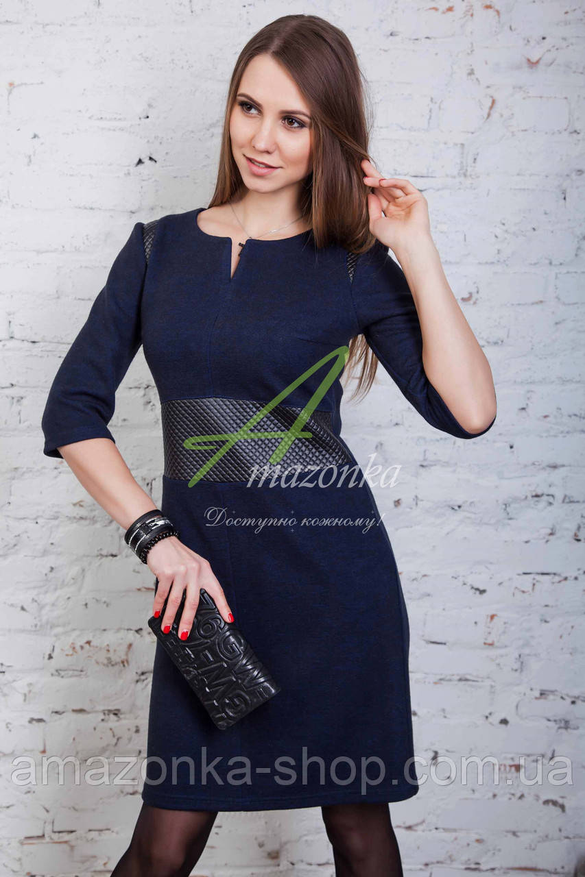 Брендовое женское платье от производителя - весна 2017 - Код пл-90