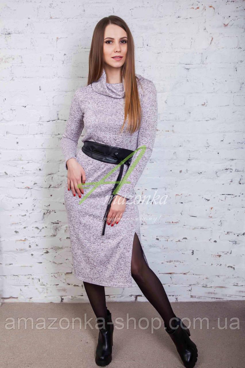 Мягкое женское платье от производителя - новый год 2018 - Код пл-100