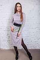 Мягкое женское платье от производителя - новый год 2018 - Код пл-100, фото 1