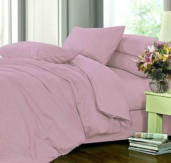 Полуторное постельное белье из однотонного сатина, 100% хлопок