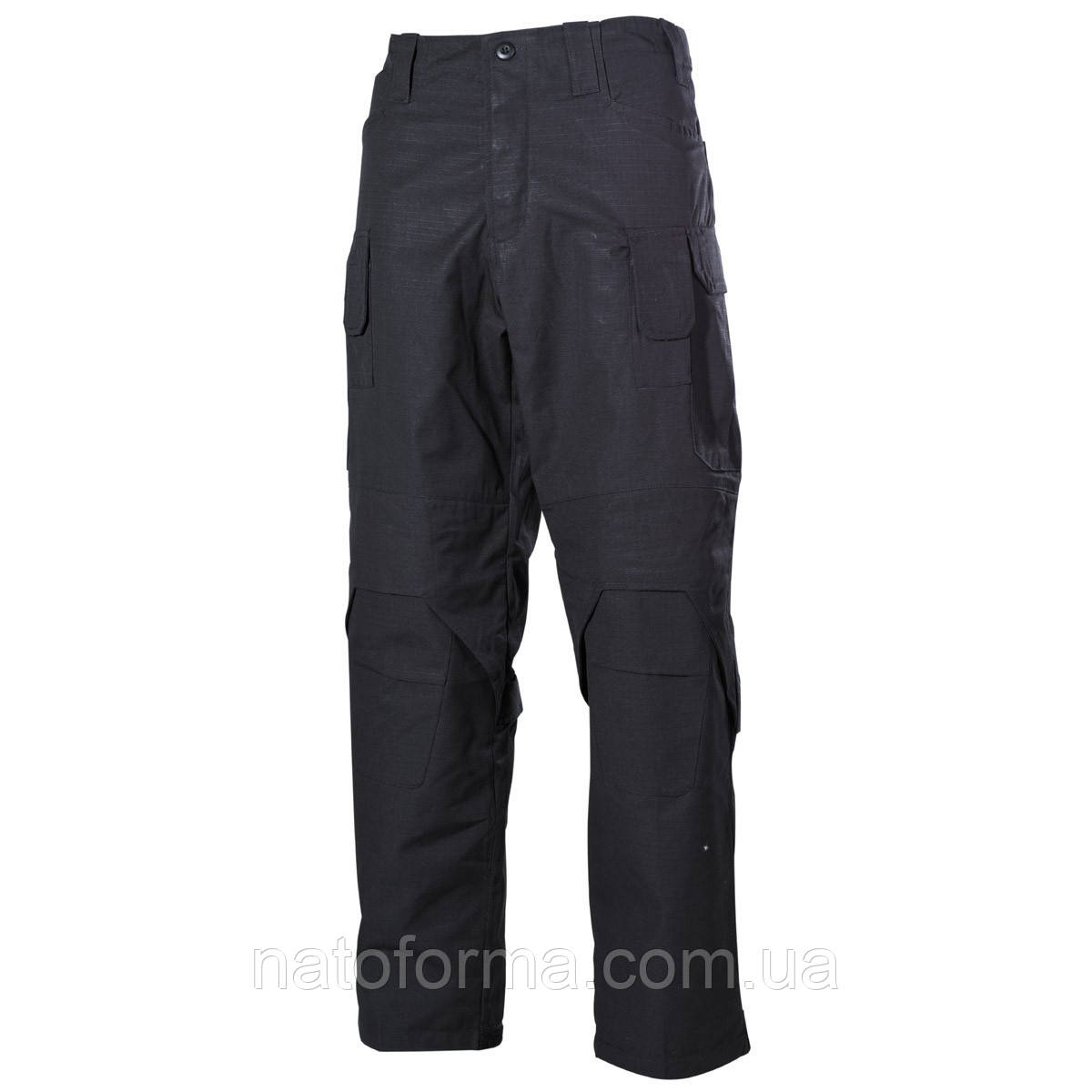 Штаны, брюки тактические Mission, Ny/Co, MFH, черные, фото 1