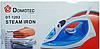 Утюг электрический Domotec DT-1203, 1800W, керамическая подошва