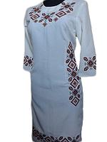Вишите плаття Море (машинна вишивка d2751b0d6b56f