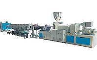 Экструзионная линия LPG-65/45 по производству труб из ПЭ100, ПП