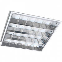 LED cветильник растровый 600х600 для светодиодных ламп Т8