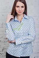 Модная женская блузка-рубашка 2017 - (код бл-59), фото 1