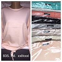 Женская кофта вязка увеличенный размер со шнурком