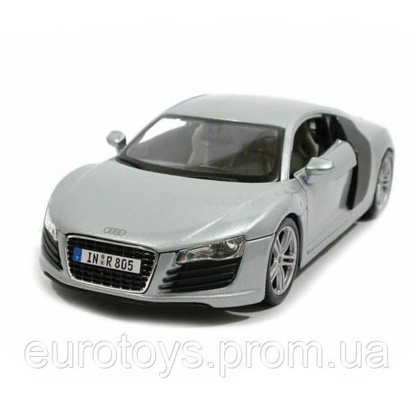 MAISTO Автомодель (1:18) Audi серебристый
