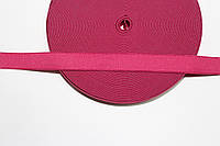 Резинка декоративная 20мм (25м) малиновый , фото 1
