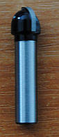 Фреза пазовая галтельная FIT ф8х6х44, r4, хв.8мм (арт.36647)