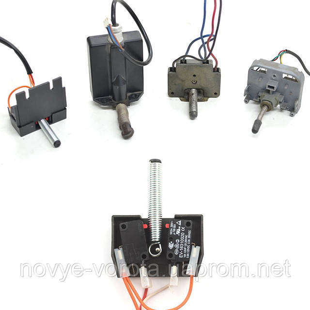 Представители механической системы концевых выключателей