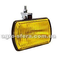 Фара противотуманная желтое стекло (прямоугольная) ФПГ-106.00.00.00