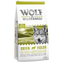 Wolf of Wilderness Green Field - ягненок 4 кг, фото 1