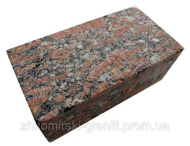 Бруківка з Капустянського граніту  - «Житомирські граніти» — весь спектр виробів з граніту в Житомирской области