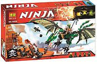 Конструктор Ninja «Зелёный энерджи дракон Ллойда»