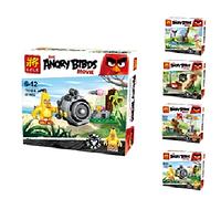 Angry Birds конструктор. Детские тематические конструкторы, мульт-герои злые птицы. Конструктор 79248