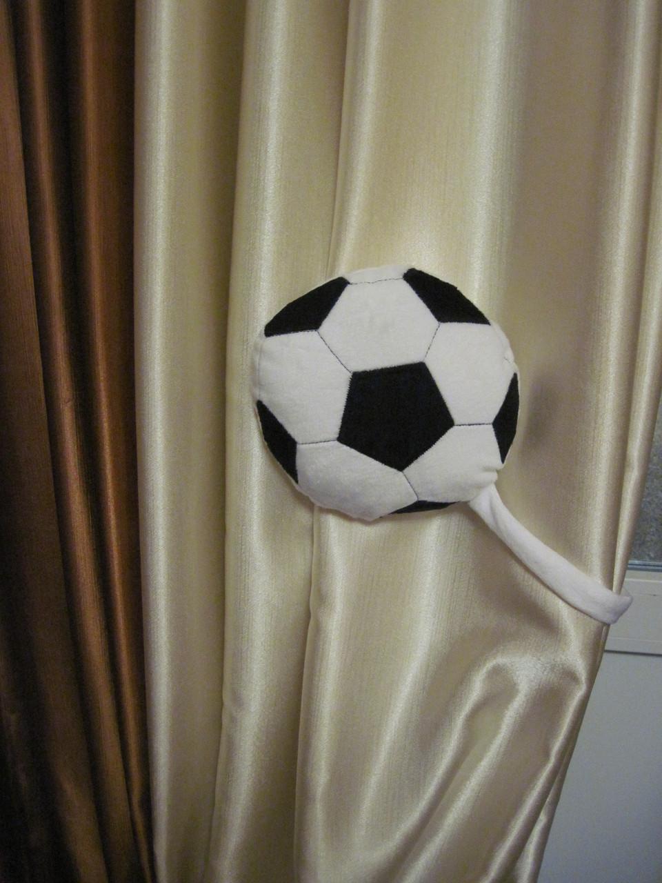 Подхват для штор мяч в детскую ручной работы