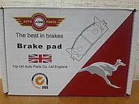 Тормозные колодки передние Daewoo Lanos (Ланос) 1999--> ASM (Великобритания) FR257066
