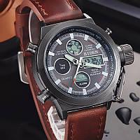Часы мужские наручные AMST Biden brown black