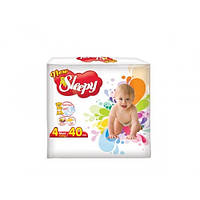 Подгузники детские 4 Слиппи Мини / Sleepy New Mini 4 7-18 кг 40 шт
