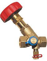 """Балансировочный вентиль STROMAX-M с измерительными клапанами 4117М, 1"""" Herz"""