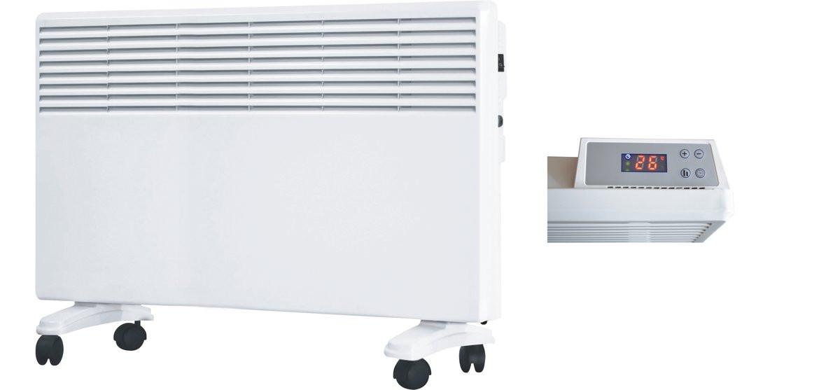 Конвектор отопления электрический Saturn ST-HT 0480 с дисплеем и автоматическим поддержанием температуры