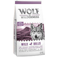 Wolf of Wilderness Wild Hills - утка 4кг, фото 1