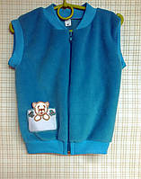 Детский жилет для мальчика 110-116 см