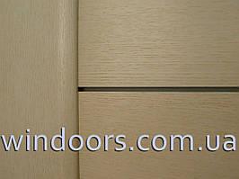 """Двери межкомнатные БРАМА """", Натуральный шпон 38.1"""" ясень выбеленый, 90 см"""