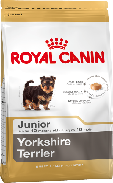 Роял Канин для щенков Йоркширский терьер до 10 мес