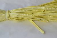 Канты дермантиновые отделочные(50ярд)Лимон. лаковый.